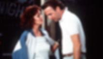 "Susan Sarandon and Kevin Costner in 1988's ""Bull Durham."""