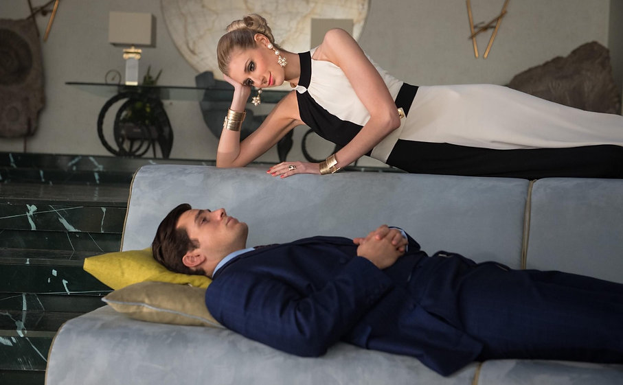 """Henry Cavill and Elizabeth Debicki in 2015's """"The Man From U.N.C.L.E""""."""