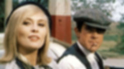 """Faye Dunaway and Warren Beatty in 1967's """"Bonnie & Clyde."""""""