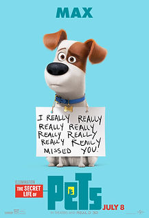 """Movie poster for 2016's """"The Secret Life of Pets."""""""