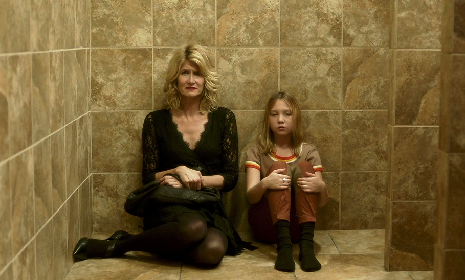 "Laura Dern and Isabelle Nélisse in 2018's ""The Tale."""