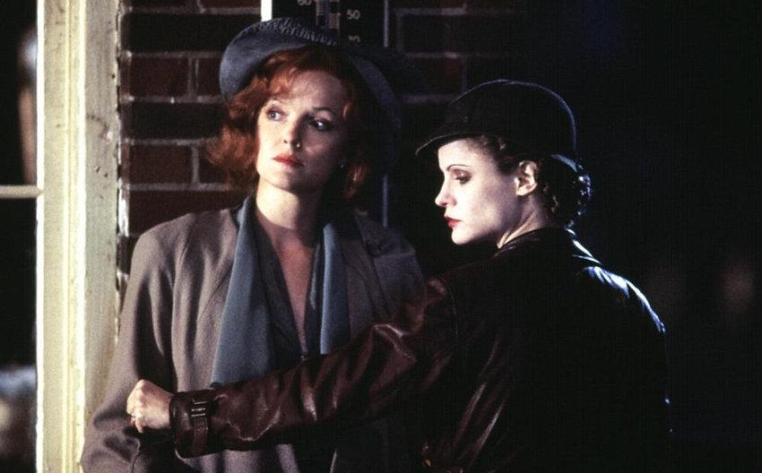 "Miranda Richardson and Jennifer Jason Leigh in 1996's ""Kansas City."""