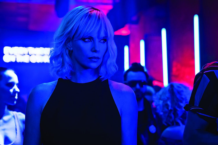 "Still from 2017's ""Atomic Blonde."""