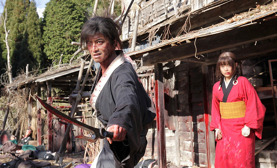 "Still from 2017's ""Blade of the Immortal."""