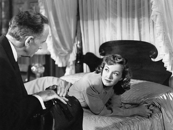 """Nina Foch in 1945's """"My Name is Julia Ross."""""""