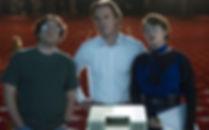 """Michael Stuhlbarg, Michael Fassbender, and Kate Winslet in 2015's """"Steve Jobs."""""""
