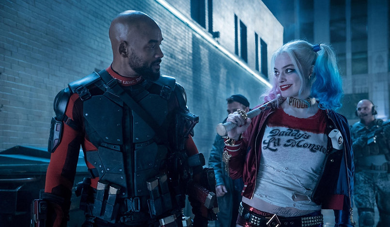 """Will Smith and Margot Robbie in 2016's """"Suicide Squad."""""""