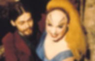 """Danny Mills and Divine in 1972's """"Pink Flamingos."""""""