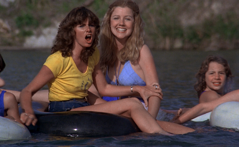 "Movie still from 1978's ""Piranha."""
