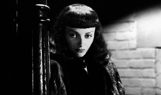 """Movie still from 1943's """"The Seventh Victim""""."""