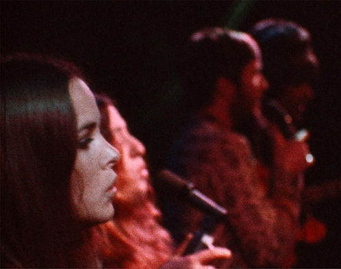 "The Mamas and the Papas in 1968's ""Monterey Pop."""