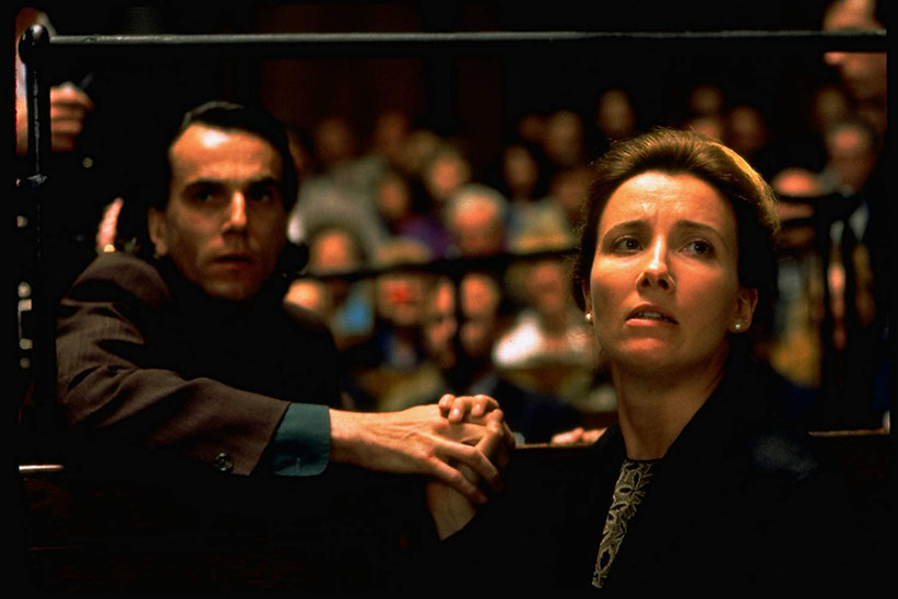 """Daniel Day-Lewis and Emma Thompson in 1993's """"In the Name of the Father."""""""