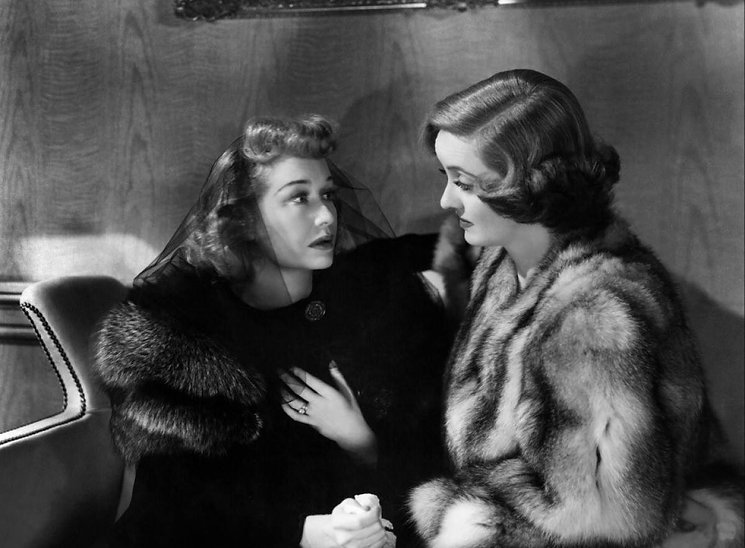 """Still from 1943's """"Old Acquaintance."""""""