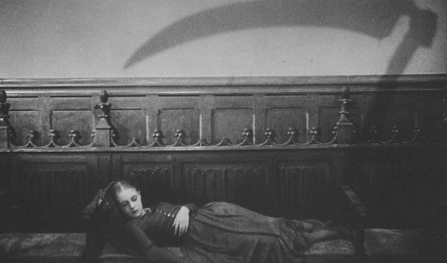"""Movie still from 1932's """"Vampyr."""""""