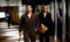 """Stephen Baldwin and Kevin Spacey in 1995's """"The Usual Suspects."""""""