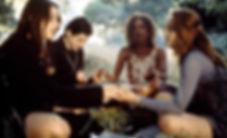 "Neve Campbell, Fairuza Balk, Rachel True, and Robin Tunney in 1996's ""The Craft."""