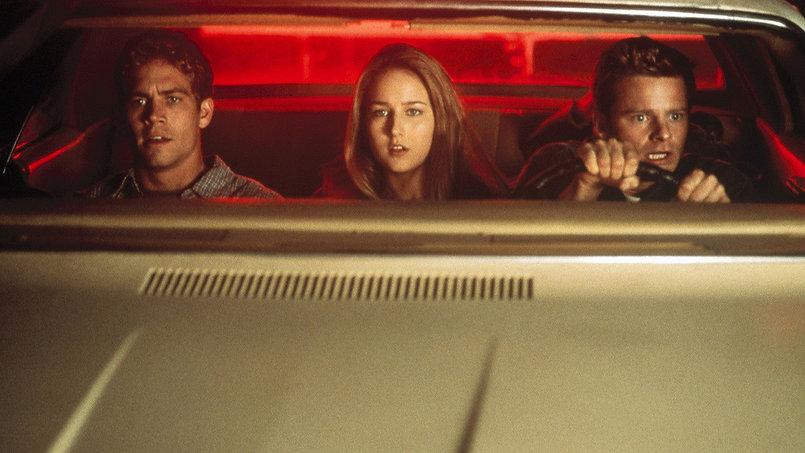 """Paul Walker, Leelee Sobieski, and Steve Zahn in 2001's """"Joy Ride."""""""