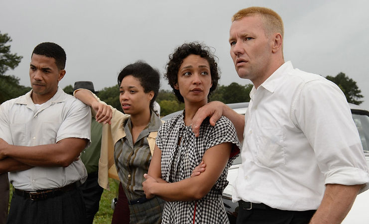 "Movie still from 2016's ""Loving."""