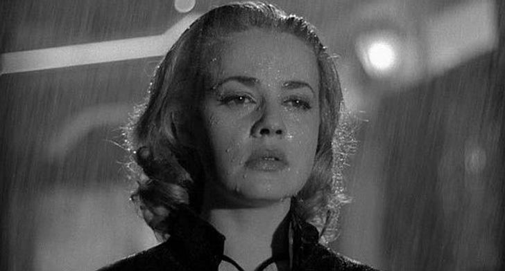 """Jeanne Moreau in 1958's """"Elevator to the Gallows""""."""