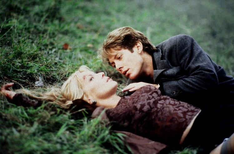 "Deborah Kara Unger and James Spader in 1996's ""Crash."""