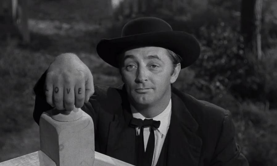 "Still from 1955's ""The Night of the Hunter."""