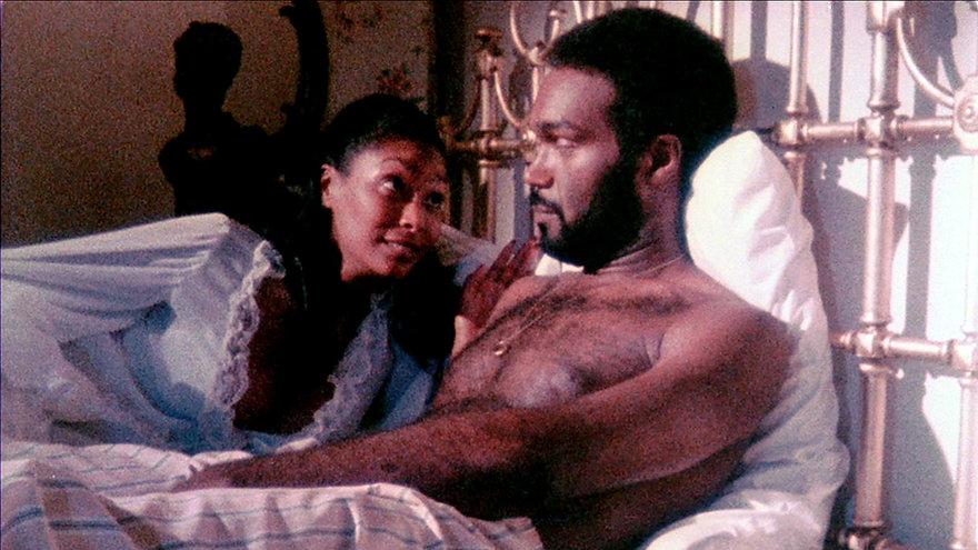 "Marlene Clark and Duane Jones in 1973's ""Ganja & Hess."""