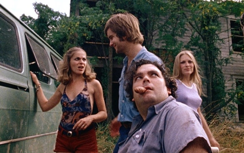 """Movie still from 1974's """"The Texas Chain Saw Massacre."""""""