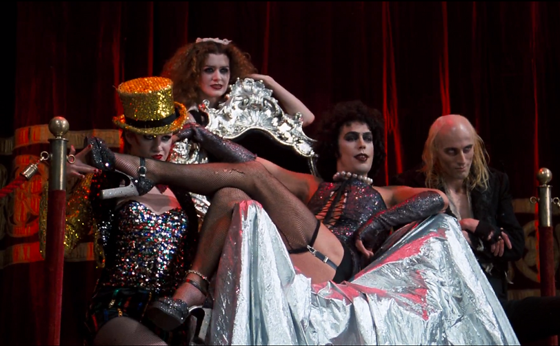 """Movie still from 1975's """"The Rocky Horror Picture Show."""""""