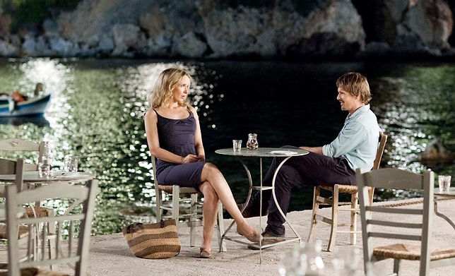 """Julie Delpy and Ethan Hawke in 2013's """"Before Midnight."""""""