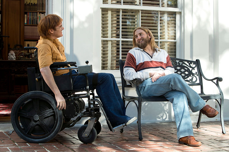 """Joaquin Phoenix and Jonah Hill in 2018's """"Don't Worry, He Won't Get Far On Foot."""""""