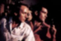 """Eusebio Poncela and Antonio Banderas in 1987's """"Law of Desire."""""""