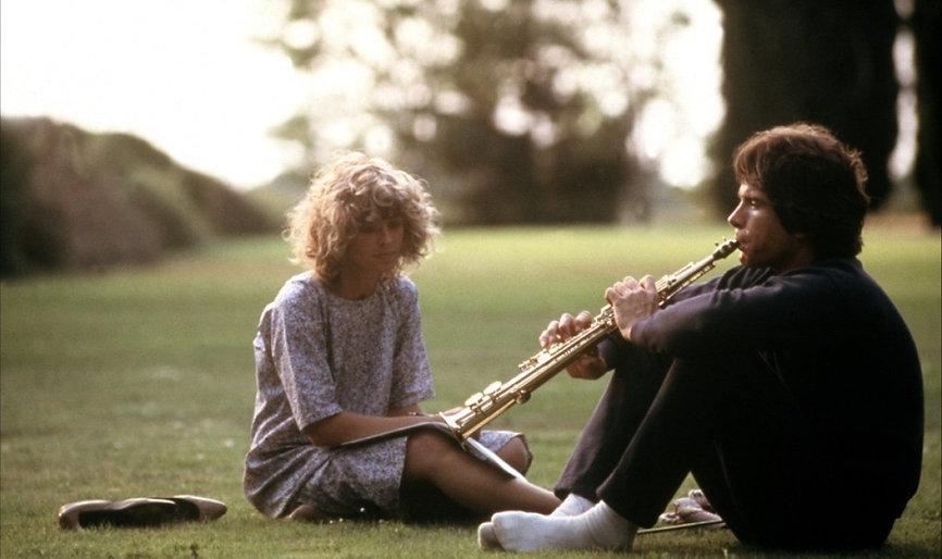 "Julie Christie and Warren Beatty in 1978's ""Heaven Can Wait."""