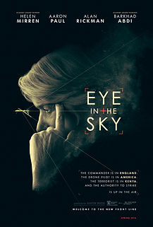 """Movie poster for 2016's """"Eye in the Sky."""""""