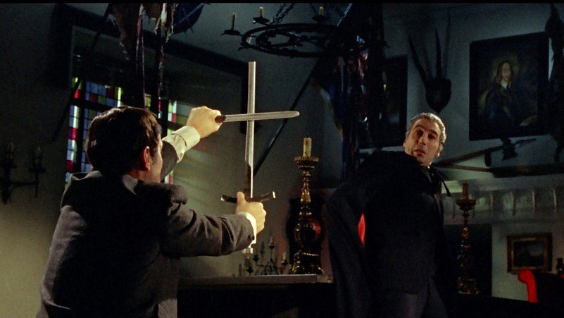 """Movie still from 1966's """"Dracula: Prince of Darkness."""""""