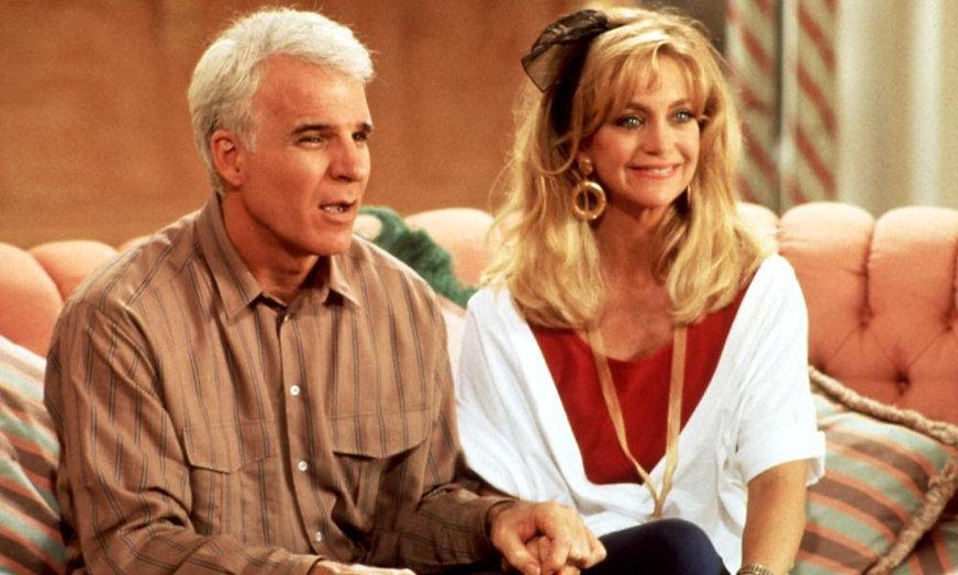 "Movie still from 1992's ""Housesitter."""