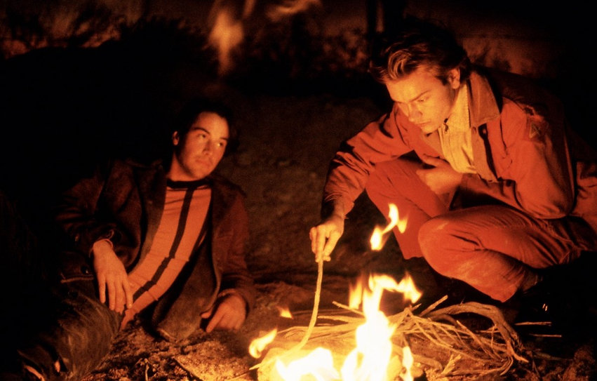 """Keanu Reeves and River Phoenix in 1991's """"My Own Private Idaho."""""""