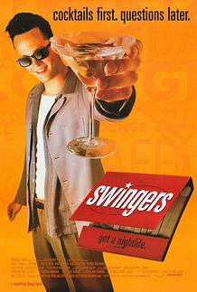 """Movie poster for 1996's """"Swingers."""""""