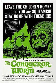 "Movie poster for 1968's ""Witchfinder General""."