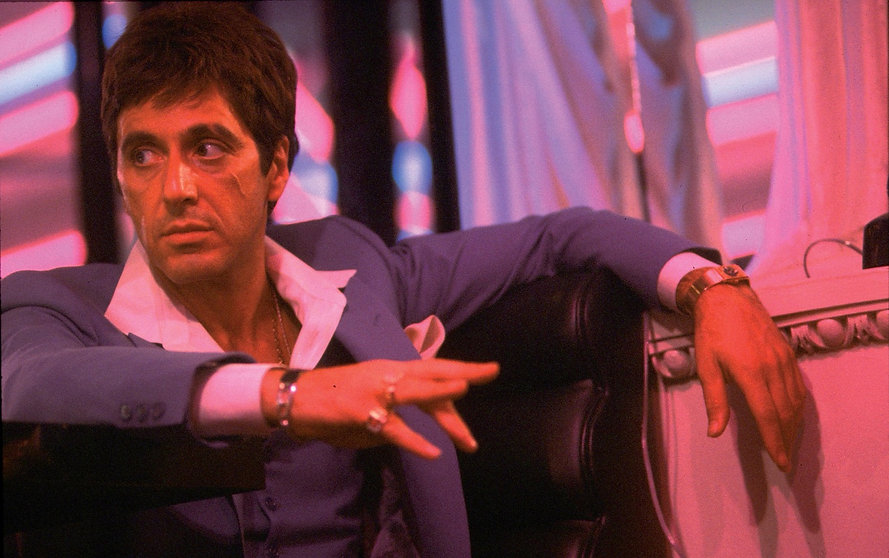 """Al Pacino in 1983's """"Scarface."""""""