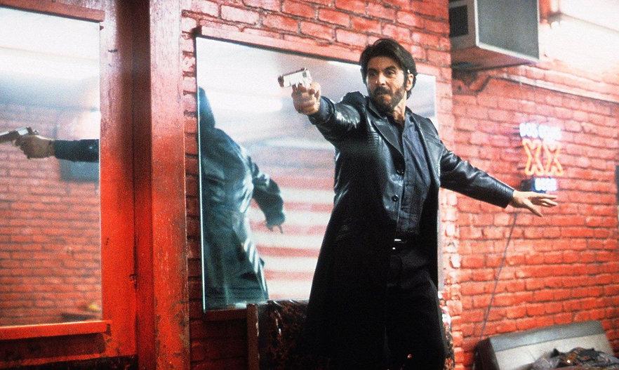 "Movie still from 1993's ""Carlito's Way."""