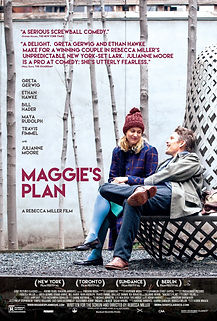 "Movie poster for 2016's ""Maggie's Plan."""