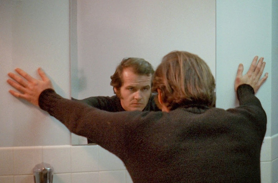 "Still from 1970's ""Five Easy Pieces."""
