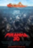 "Movie poster for 2010's ""Piranha 3D."""