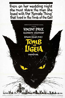 "Movie poster for 1965's ""The Tomb of Ligeia."""