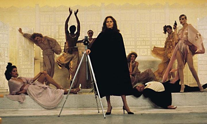"""Faye Dunaway in 1978's """"Eyes of Laura Mars."""""""