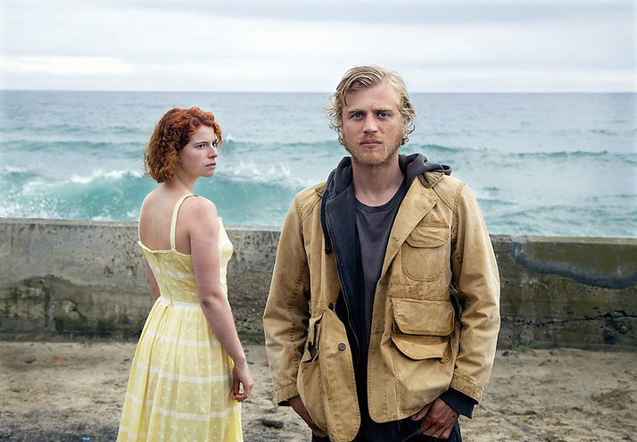 """Jessie Buckley and Michael Flynn in 2018's """"Beast."""""""