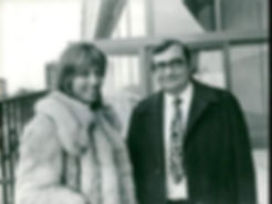 Stéphane Audran and Claude Chabrol