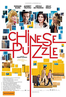 "Movie poster for 2013's ""Chinese Puzzle""."