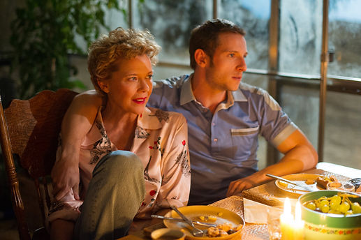 "Annette Bening and Jamie Bell in 2017's ""Film Stars Don't Die in Liverpool."""