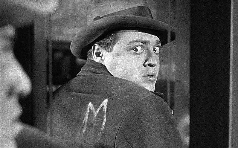 "Peter Lorre in 1931's ""M."""